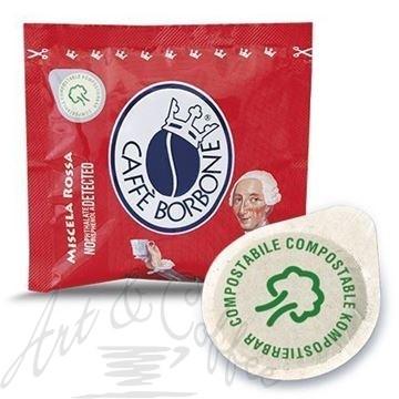 150 Cialde compostabili Caffè Borbone miscela Rossa