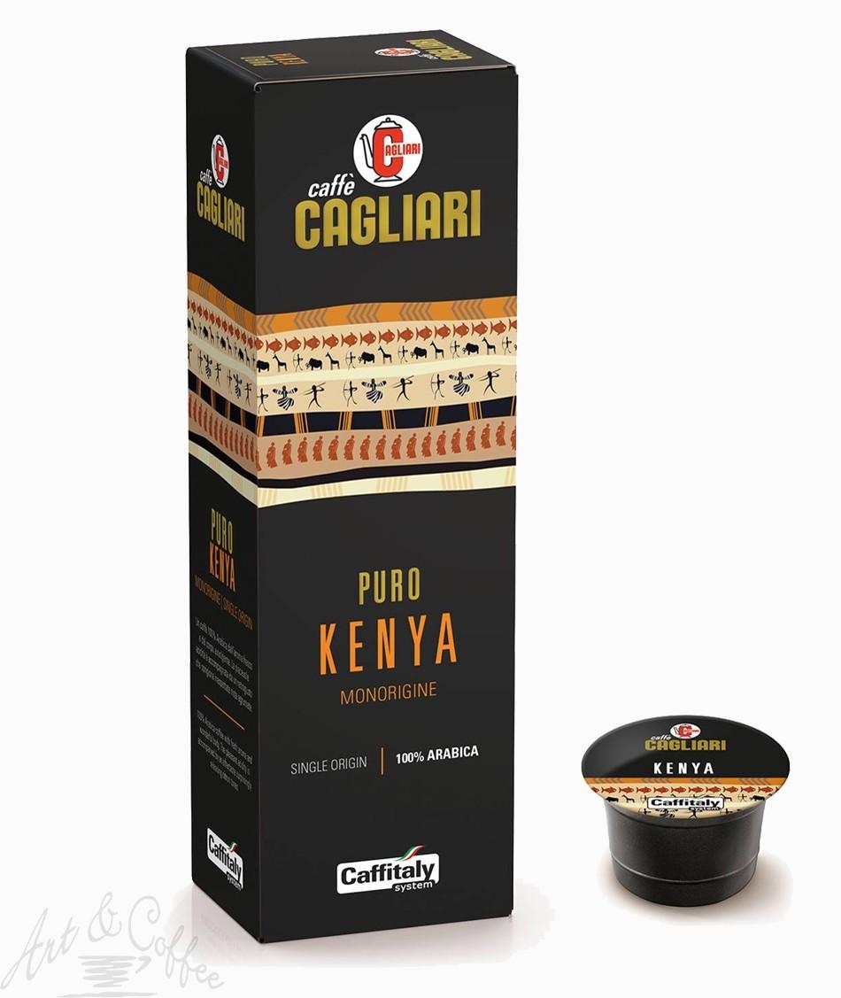 10 Capsule Caffitaly Cagliari Monorigine Kenya