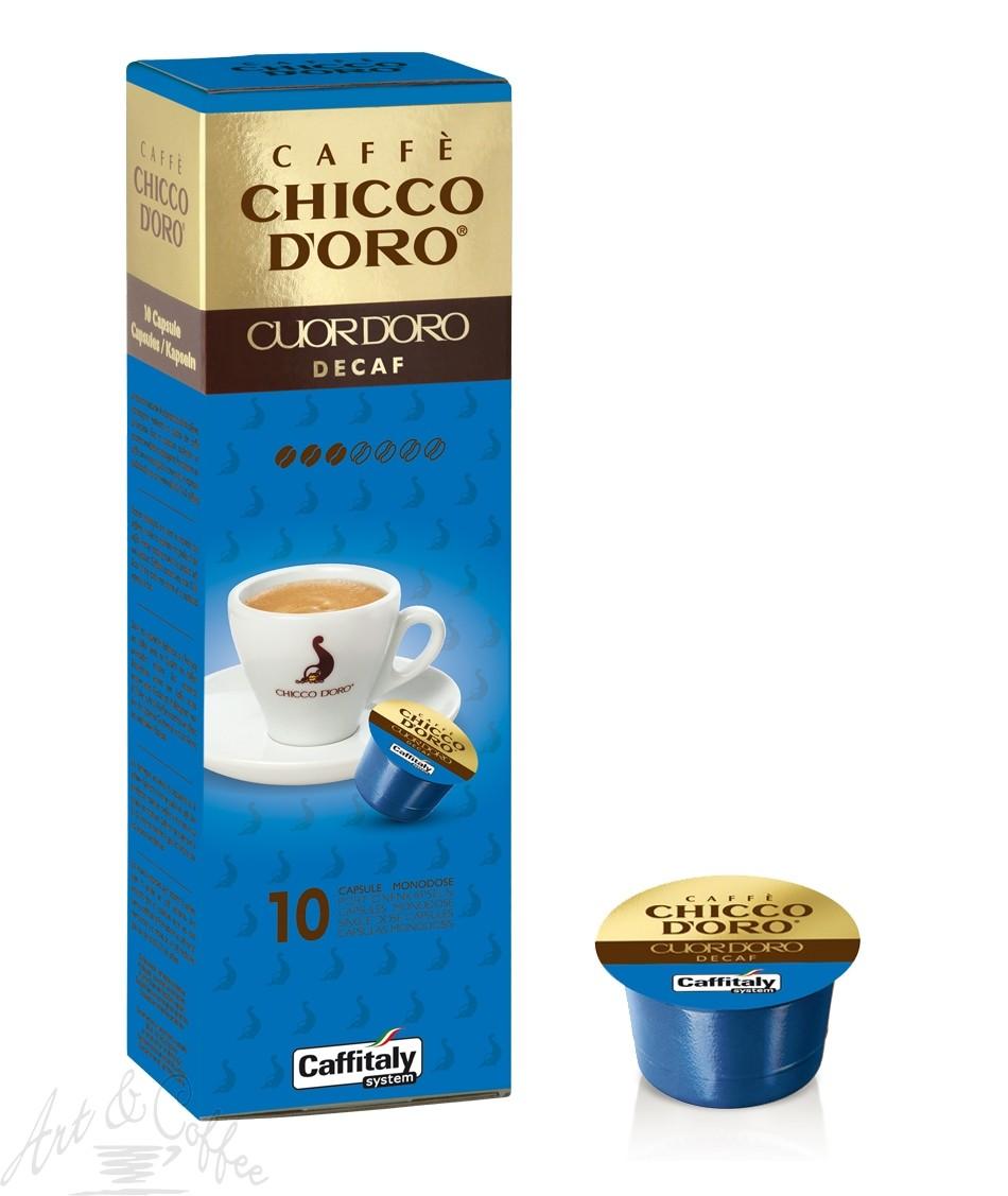 10 Capsule Caffitaly Chicco D'oro Espresso Decaffeinato