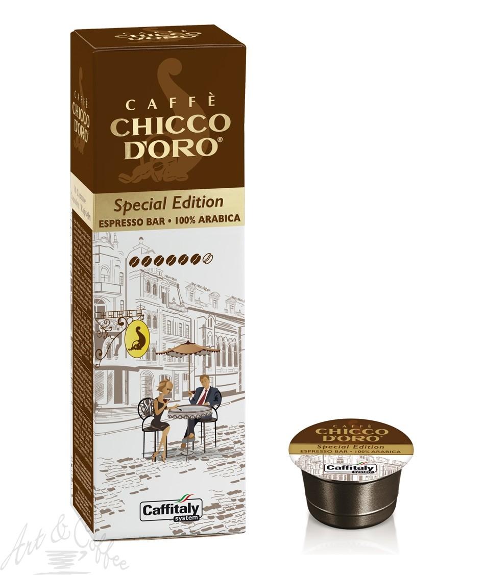 10 Capsule Caffitaly Chicco D'oro - Selezione Speciale Espresso Bar