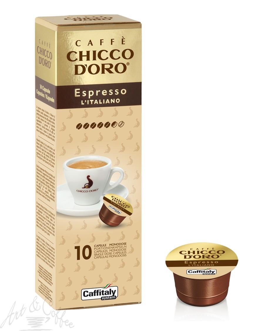 10 Capsule Caffitaly Chicco D'oro Espresso Italiano