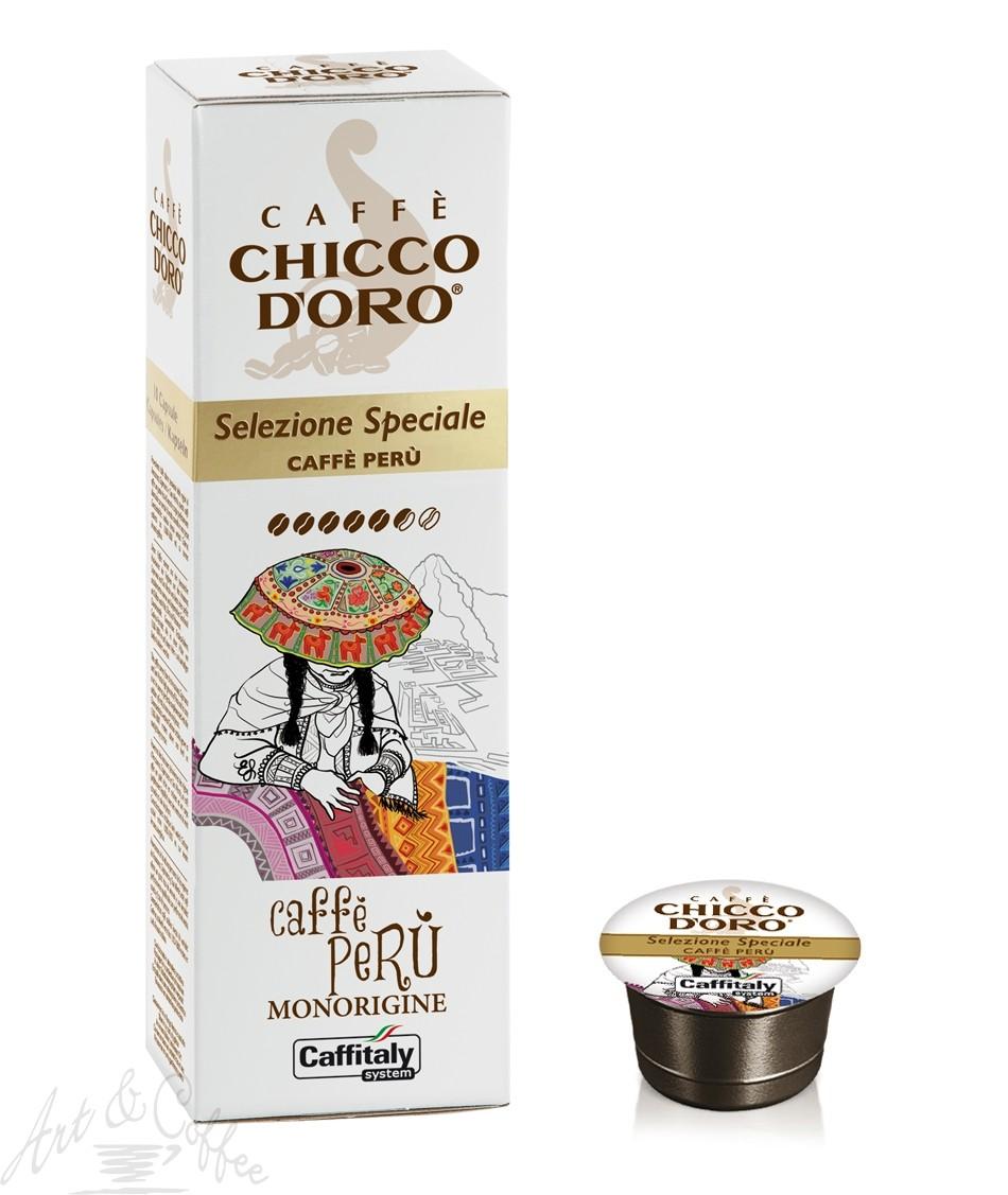 10 Capsule Caffitaly Chicco D'oro - Selezione Speciale Perù