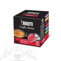 "16 Capsule Bialetti ""I Caffè d'Italia"" Roma"
