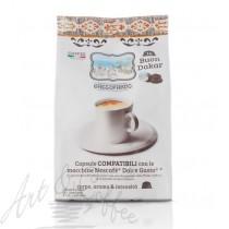 96 Capsule Gattopardo compatibili Nescafè Dolce Gusto miscela Dakar