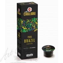 10 Capsule Caffitaly Cagliari Monorigine Brazil