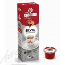 10 Capsule Caffitaly Cagliari Silver