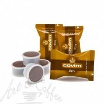 100 capsule Covim Orocrema - Comp. Lavazza Espresso Point