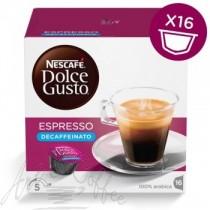 16 Capsule Nescafè Dolce Gusto Espresso Decaffeinato