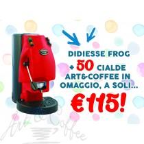 Macchina da caffè Didiesse mod. Frog Revolution con 50 cialde Panarea in regalo!