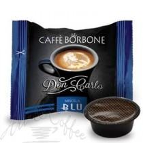 100 Capsule Caffè Borbone compatibili A Modo Mio miscela Blu