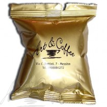100 Capsule Art&Coffee compatibili Espresso Point miscela Panarea